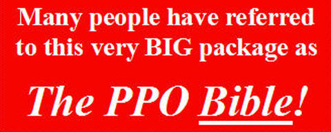 use the PPO 101 15-pound study package